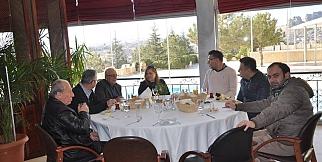 Basın Mensupları Dinler Hotels Ürgüp'de Sabah Kahvaltısında Buluştular.