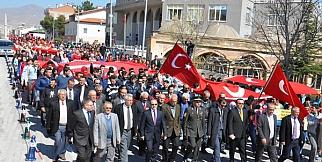 Çanakkale Şehitleri Gülşehir'de Anıldı. FOTO GALERİ