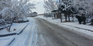 Gülşehir'den Kar Manzaraları... FOTO GALERİ