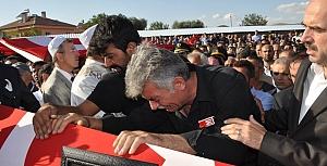 Şehit Ali Rıza Güneş'in Cenaze Töreninden Görüntüler.