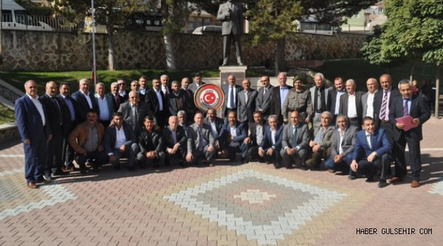 19 Ekim ''Muhtarlar Günü'' Gülşehir'de Resmi Tören ile kutlandı.
