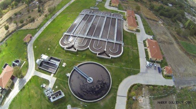 35 milyon 506 bin 460 metreküp atık su arıtıldı.