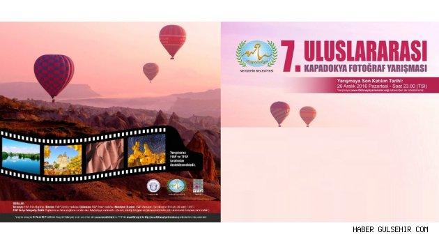 7. Uluslar Arası Kapadokya Fotoğraf Yarışma Başvuruları 26 Aralık'da Sona Eriyor.