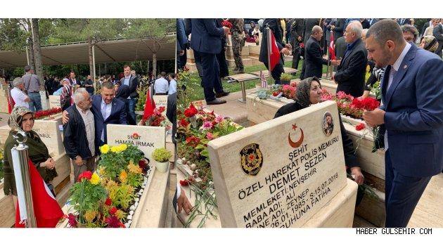 Açıkgöz, '15 Temmuz Demokrasi ve Milli Birlik Günü'nde Ankara'daki anma programlarına katıldı.