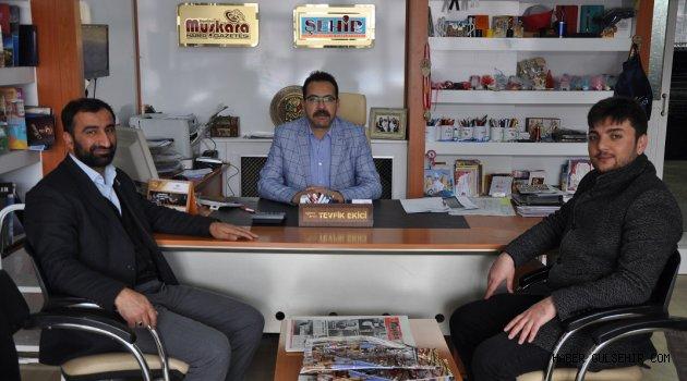 AGD'den Gazeteciler Cemiyeti Başkanı Ekici'ye ziyaret