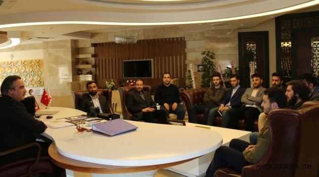 AGD Nevşehir Şubesinden Rektör Prof. Dr. Mazhar Bağlı'ya Ziyaret