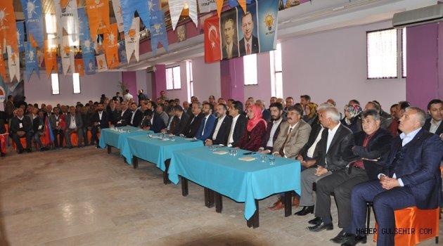 Ak Parti 6, Olagan Kongresi Gülşehir'de Yapıldı