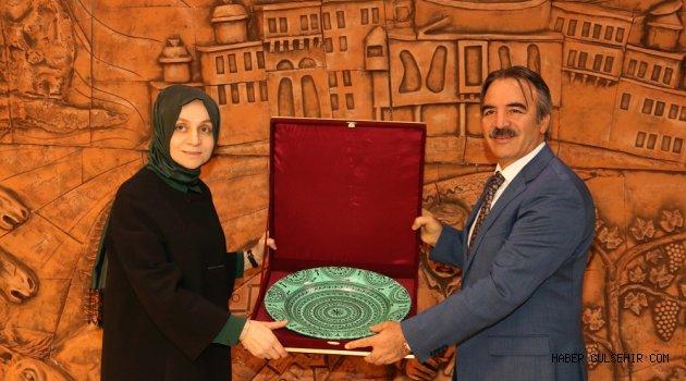 AK Parti Genel Başkan Yardımcısı Dr. Leyla Şahin Usta'dan Rektör Bağlı'ya Ziyaret