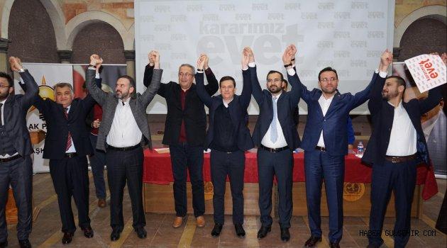 AK Parti Genel Başkan Yardımcısı Fatih Şahin, Nevşehir'de