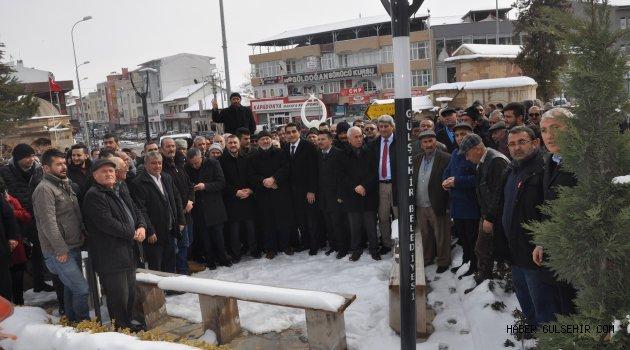 Ak Parti Gülşehir Belediye Başkan Adayı Çiftçi, Seçim Çalışmalarına Dualarla Başladı.