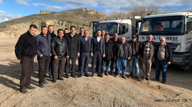 Ak Parti Gülşehir Ekibinden İl Özel İdaresi Personeline Ziyaret