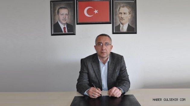 Ak Parti Gülşehir İlçe Başkanı Çiftçi'den Anneler Günü Mesajı.