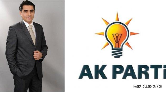 Ak Parti Gülşehir İlçe Başkanlığına Avukat Çiftçi Getirildi.