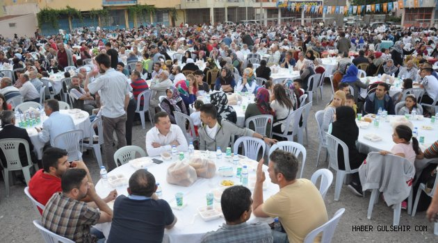 Ak Parti Gülşehir İlçe Teşkilatı İftar Programı Düzenledi.