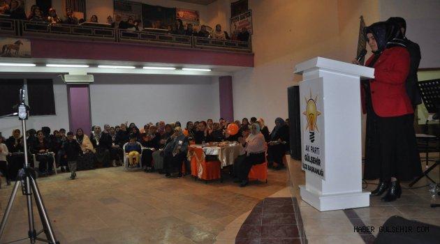 Ak Parti Gülşehir Kadın Kollarından, ''Kadınlara Özel 8 Mart Programı.