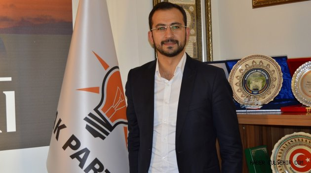 AK PARTİ İl Başkanı Tanrıver, Reğaip Kandilini Kutladı.