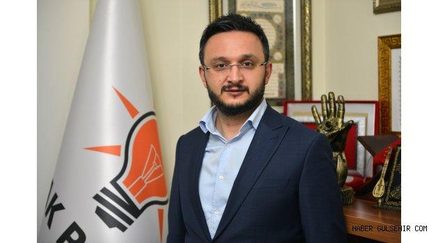 AK Parti İl Başkanı Yanar,  Regaip Kandilini Kutladı.