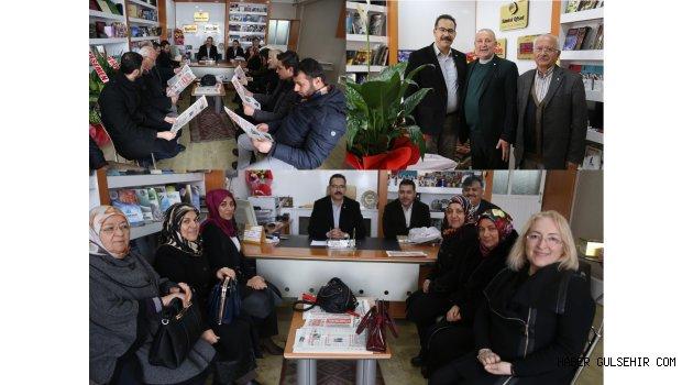 AK Parti Kadın Kolları, Kızılay ve AK Parti Gençlik Kolları NGC'ye ziyaret gerçekleştirdiler.