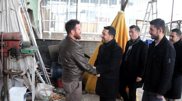 AK Parti Nevşehir Belediye Başkan Adayı Arı, Seçim Çalışmalarına Hız Kesmeden Devam Ediyor.