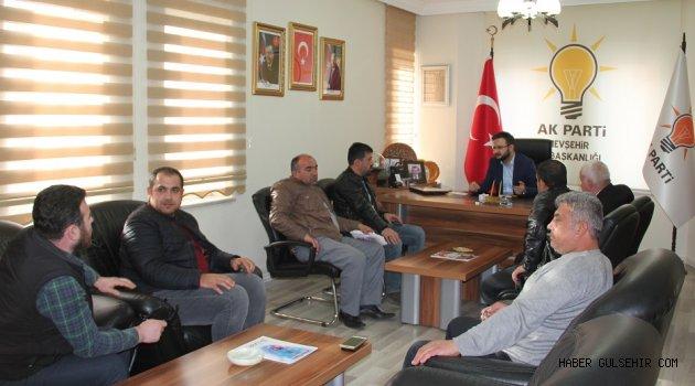 AK Parti Nevşehir İl Başkanı Yanar, Halkın Sorunlarına Çözüm Buluyor.