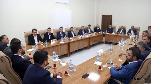 AK Partili belediye başkanları İstişare Toplantısında Buluştu