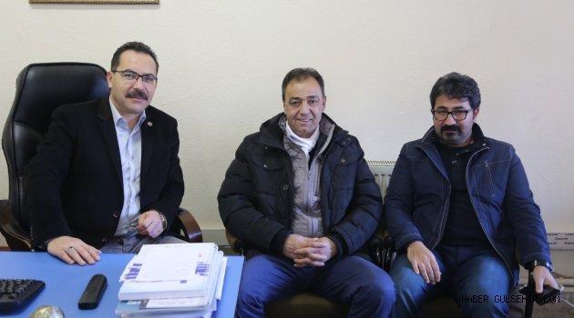 ASKF Başkanı Avcı'dan Ekici'ye ziyaret