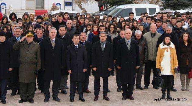 Atatürk'ün Hacıbektaş'a Gelişinin 97. Yıl Dönümü Kutlandı