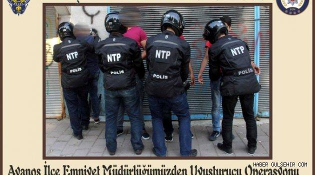 Avanos Emniyet Müdürlüğü'den Uyuşturucu Operasyonu