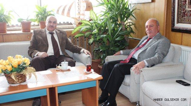Avanos Kaymakam Vekili Kayhan'dan Avanos Belediyesine Ziyaret.