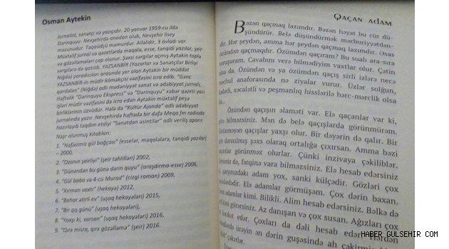 Azerbaycan'da Yayınlanan Hikâye Kitabında Nevşehirli Yazar Da Var