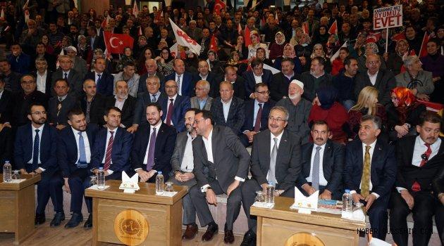 Bakan Albayrak'dan Gülşehir ve Acıgöl'e Müjde