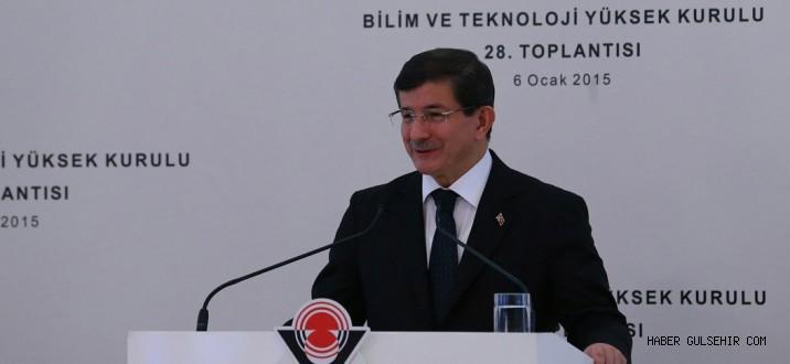 Başbakan Davutoğlu; Ar-Ge'ye 16 milyar lira.