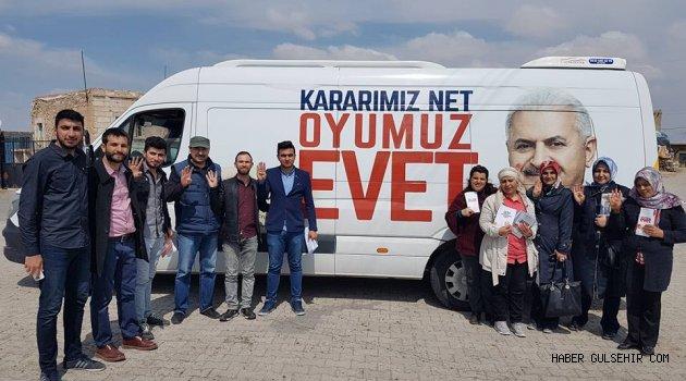 Gülşehir Ak Ekip; Başbakan Yıldırım'ın Özel Mektubunu Vatandaşlar'a İlettiler.