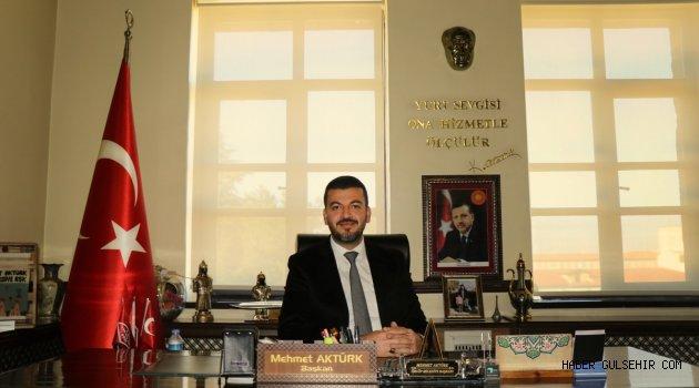 Başkan Aktürk'den 19 Mayıs Atatürk'ü Anma Gençlik Ve Spor Bayramı Mesajı