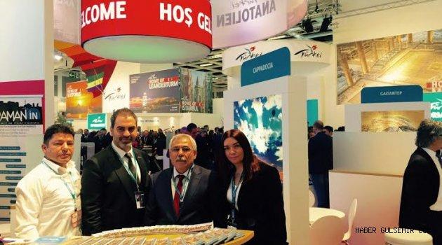 Başkan Karaaslan, ITB Berlin Turizm Fuarı'nda
