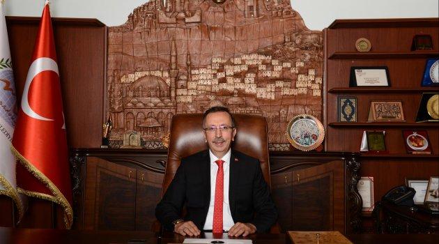 Başkan Seçen ''Regaib Kandili, Tüm İnananlar İçin Hayırlara Vesile Olsun''