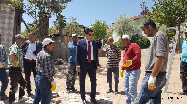 Belediye Başkanı Çiftçi, Çalışmaları Denetledi