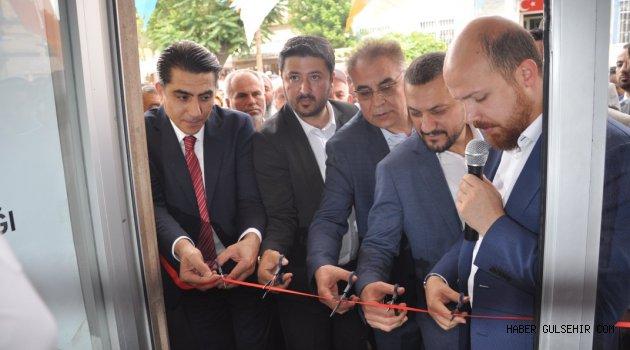 Bilal Erdoğan Ak Parti Gülşehir Seçim Bürosunun Açılışını Yaptı.