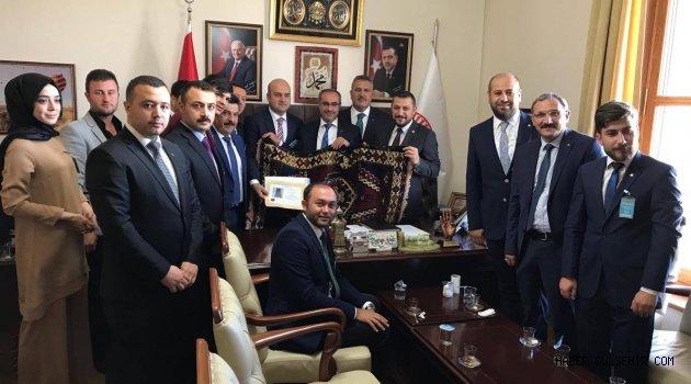 Birlik Vakfından Başkent ziyaretleri