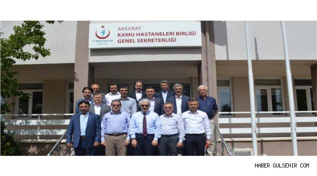 Birlikte Satın Alma Toplantısının 4.sü Aksaray KHB Genel Sekreterliğinde Yapıldı