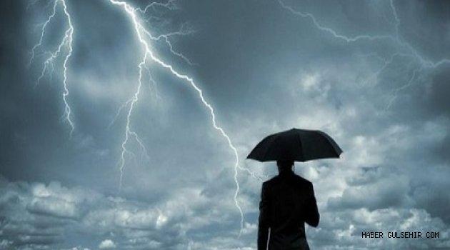 Bölge Genelinde Kuvvetli Gök Gürültülü Sağanak Yağışlara Dikkat!