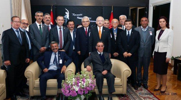 CHP heyeti Ankara'dan mutlu döndü