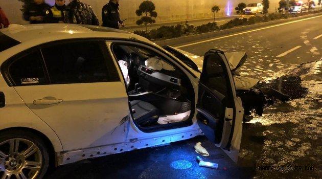 Cumartesi günü meydana gelen kazada trafik raporu ortaya çıktı