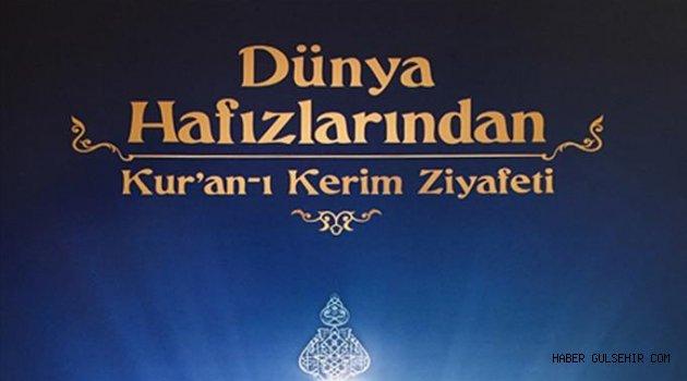 Dünya Hafızlarından Nevşehir'de Kur'an Ziyafeti.