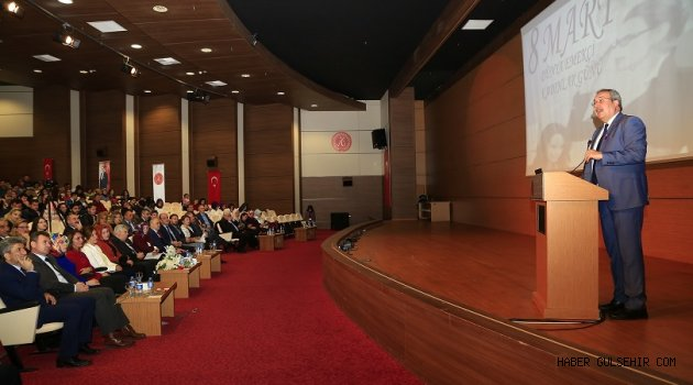Dünya Kadınlar Günü, Nevşehir'de Düzenlenen Törenle Kutlandı.