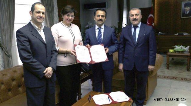 Eğitim İşbirliği Protokolü İmzalandı.
