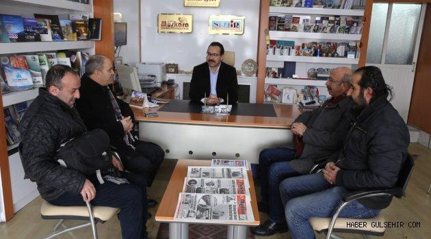 Emniyet Müdürü Artunay'dan Nevşehir Gazeteciler Cemiyetine ziyaret