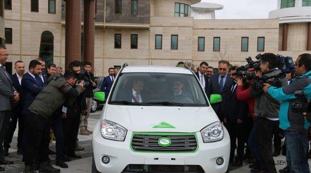 Enerji Bakanı Dönmez 'Boren'i Test Etti