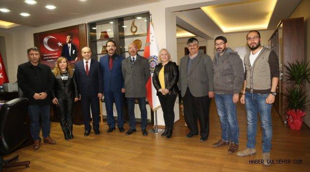 Gazeteciler Cemiyetinden Emniyet Müdürü Artunay'a ziyaret