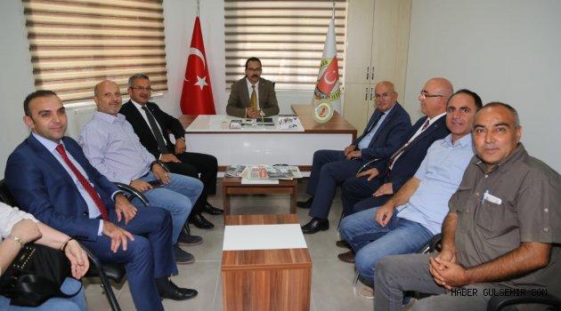 Gebze Belediyesi ve Kocaeli Gazeteciler Cemiyetinden Nevşehir Gazeteciler Cemiyetine destek